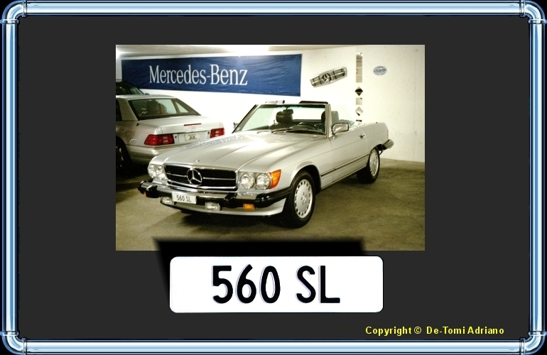 TUNING MERCEDES 560 SL